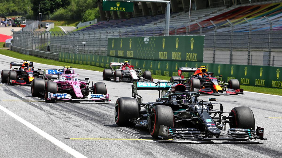 Formel 1 Starting Grid