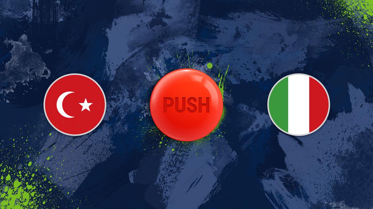 EM 2021 - Türkei vs. Italien